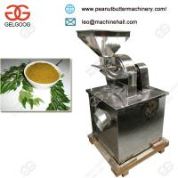 Quality Hot Selling Moringa Curry Neem Leaf Powder Grinder Making Machine Supplier Price for sale