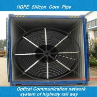 Buy cheap hdpe duct/hdpe siliconed pipe/hdpe pipe for fiber optic/hdpe silicon cored-pipe from Wholesalers