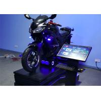 Quality Motorbike 9D Virtual Reality Simulator VR Attraction 3 Dof Electric Motion Platform for sale