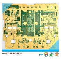 China Rigid PCB Immersion Gold Prototype and rigid flex circuit boards on sale