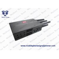 Buy cheap Mobile Phone 3G Signal Jammer , GPS Jamming Device With High Capacity Battery from wholesalers
