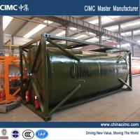 Quality ISO 20ft cooking oil tanker container for sale