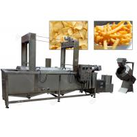 Quality Multifunction Potato Chips Making Plant / Henan GELGOOG Machinery Electric 200 Kg / H for sale