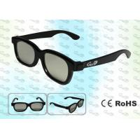 Quality 3D TV ABS Plastic Circular polarized 3D glasses CP297GTS01 for sale