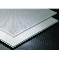 Buy cheap High Quality Suspended Soundproof Office Clip In Metal Ceiling Tiles from wholesalers