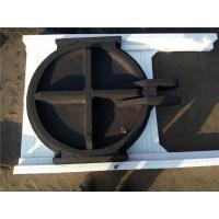 China Round Steel Cast Iron Sluice Gates Wall Mounted Sluice Gate For Reservoirs on sale