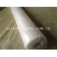 China FDA approved food grade rubber sheet roll support white / beige color. on sale