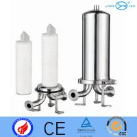 Quality single cartridge filter vent filter housing filter bag housings  10 20 30 40 in Food & Beverage Industry for sale