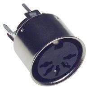 Quality CONN DIN RECPT VERTICAL PCB 5P SD-50BV for sale