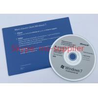 Quality OEM 64 Bit Computer System Softwares , Microsoft Win 7 Pro DVD / VD Data for sale
