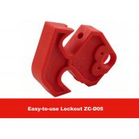 Quality MCCB Red Nylon Easy to Use Moulded Case Circuit Breaker Lockout for sale