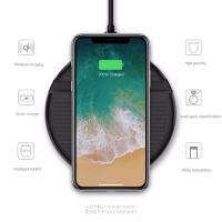 Quality Iphone8 IphoneX Samsung S6 Cell Phone Chargers Wireless Charger Protect Interface for sale