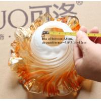 Handmade flower shaped glass lampshade for pendant light