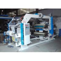 Quality Accurate Flexographic Printing Machine  High Flow Hot Air Blowing PLC Control for sale