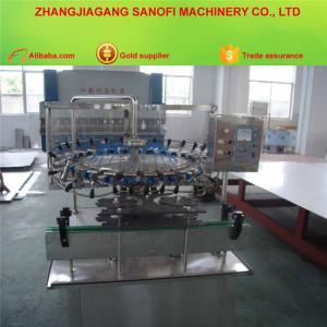 China Overturn 180 Degree Automatic Plastic Bottle Washing Machine Cleaner on sale