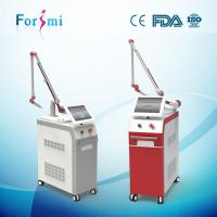 China Vertical Professional Clinic / Hospital Use Nd Yag Tattoo Removal Laser Machine on sale