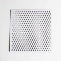 Quality Powder Coated Perforated Metal Sheet Superior Abrasion Resistance For Home Appliances for sale