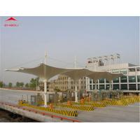 Buy cheap Large Tensile Membrane Structures 1050gsm PVC Roof Flame Retardant DIN 4102 B1 from wholesalers