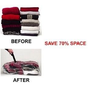 Quality 85*55cm,80*60cm seal Clothes Vacuum Bag, Waterproof,durable, travel vacuum bags for sale