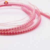 Buy Waterproof pink fashion plastic TPU / PVC coated piping trim cord at wholesale prices