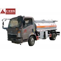 Quality Light Chassis Fuel Oil Truck , Heacy Duty Fuel Transport Trucks  Single Cabin for sale