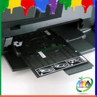 Easy Using DVD CD Card Tray For Epson L810 R290 Inkjet Printer Directly Printing