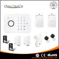 Quality APP RFID Touch Keypad smart gsm Wireless Security Alarm System with alarm control keypad for sale
