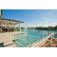 Toughened Glass Panels Swimming Pool Fence 12mm with Polished Edges