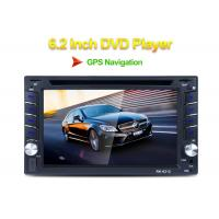 Quality Front USB 2.0 Port Double Din Car Stereo Dvd Player IR Remote Control for sale