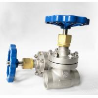 Quality DN40 CryogenicStainless Steel Globe Valve Short Stem Cryogenic System for sale