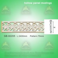 Quality Decorative PU center hollow mouldings for sale