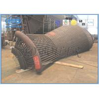 Boiler Dust Cyclone Separator Alloy Steel , Cyclone Dust Collector High Working