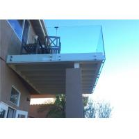 Quality Frameless Glass Railing System Standoff Metal Fixing For Balcony for sale