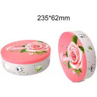 China Round Hinged Altoid Case Food Packing Boxes Empty Mint Tin Cans Long Lifespan on sale
