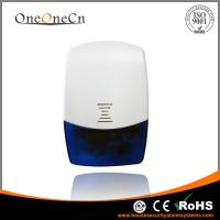 Quality Wireless Indoor Siren And Strobe Light For GSM Security Alarm System for sale
