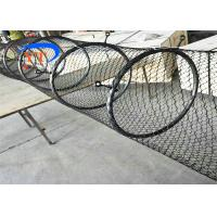Quality Special Type Diamond Mesh Fencing , Flexible Stainless Steel Bird Cage Fencing for sale