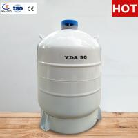 China TianChi Liquid nitrogen biological container YDS-50 Five years vacuum quality assurance on sale