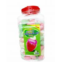 Quality Sweet and soft Marshmallow Candy / Strawberry flavor and Ice Cream Shape Marshmallow for sale