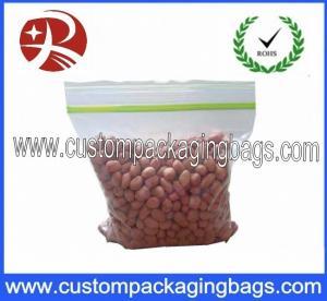 Buy cheap Transparent Reusable Small Plastic Ziplock Bags / Ziploc Vacuum Storage Bags from wholesalers