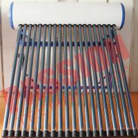 Quality Customized Color Heat Pipe Solar Water Heater Rooftop High Efficiency for sale