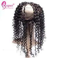 China Black Lace Frontal Closure And Bundles Human Hair Extensions Good Curly Hairstyles on sale