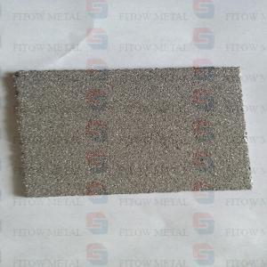 Quality Porous conductive titanium plate, titanium porous electrode plate for sale