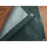 China Outdoor canvas curtain fabric,PE tarpaulin sheet, poultry barton roof door poly tarps on sale
