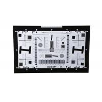 Quality 8X Enhanced ISO12233 high resolution test chart iso test chart camera test charts for 21 Megapixel camera 4000 lines for sale