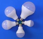Quality 180 Degree Energy Saving LED Light Bulbs 9w / 12w 6000 Hours Pc Body for sale