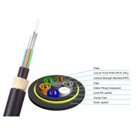 Quality ADSS Double Jacket Optical Fiber Cable 200m Span G652D FOYC / Corning Fiber for sale