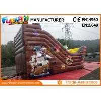 Buy cheap Custom Printing Inflatable Commercial Bouncy Castles With Slide from wholesalers