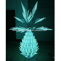 Quality Color Changing Outdoor Led Pineapple Tree for sale