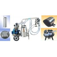 China Low Price Goat Milking Machine With Two Bucket For Cow on sale