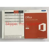 Quality Microsoft Office 2016 Home And Business OEM Software PKC / Retail Version for sale